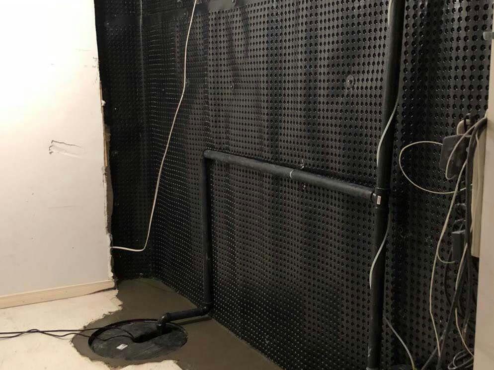 Interior Waterproofing Solution