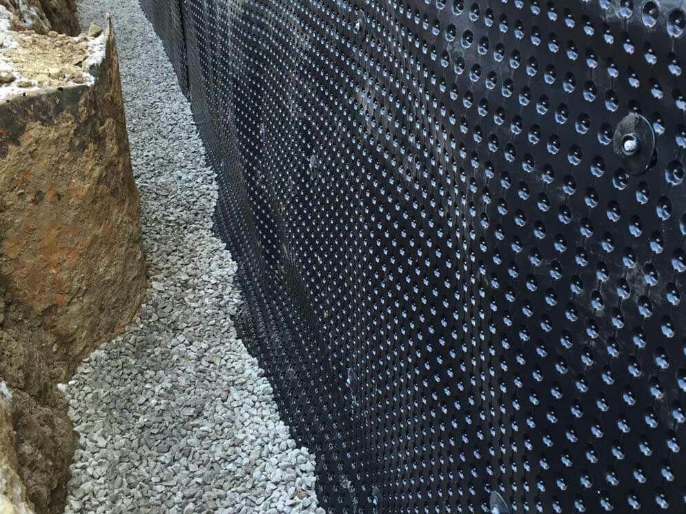 External Waterproofing Solution